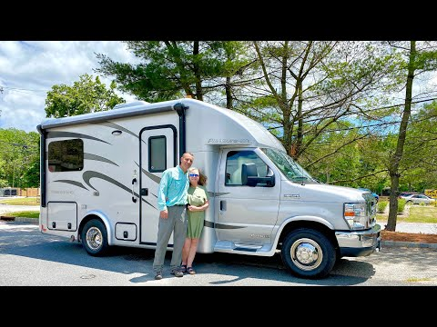 CAMPER RV TOUR | The Smallest Class B+ Motorhome With a Full Shower & Dry Bath