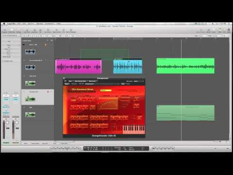 Logic Pro 9 Tutorial: How to use the Vocoder