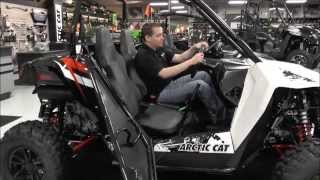 9. 2015 Arctic Cat Wildcat Sport 700 Limited White Metallic