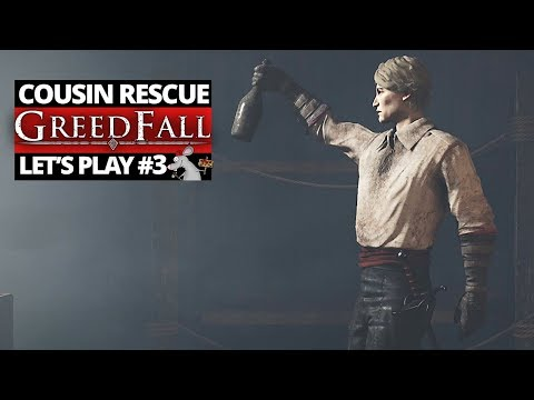 GREEDFALL GAMEPLAY #3 CRAFTING AND RESCUING CONSTATINE!
