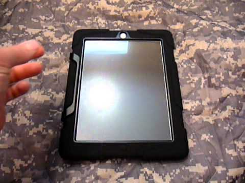 Griffin Survivor Case  vs. Otterbox Defender for iPad 2