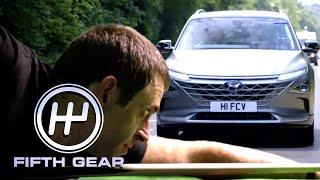 Ronnie O'Sullivan reviews the Hyundai Nexo | Fifth Gear by Fifth Gear
