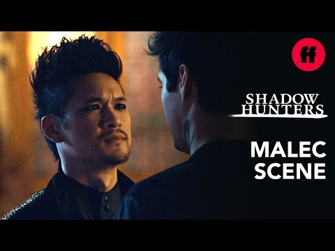 "Magnus Proposes to Alec | Shadowhunters | Season 3, Episode 20: Aisha – ""Bridges"""