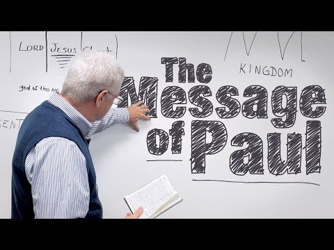 The Message of Paul