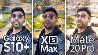 Samsung S10 Plus vs iPhone XS Max / Mate 20 Pro EXTREME Camera Test