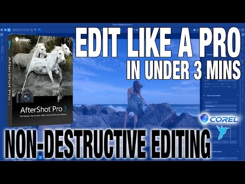Photo Editing Like A Pro in 3 Minutes with Corel AfterShot