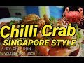 🦀🌶Chilli Crab Singapore Style | by: chef Don👨🍳🔪 | seafoods♥️