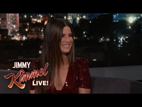 Sandra Bullock Teaches Jimmy Kimmel German