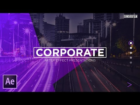 Corporate Presentation Motion Graphics Scene | After Effects Tutorial