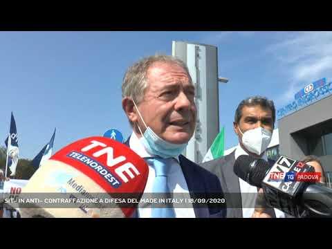 SIT- IN ANTI- CONTRAFFAZIONE A DIFESA DEL MADE IN ITALY | 18/09/2020