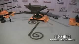 Набор инструментов M3-V9 для гибки кузнечных волют BlackSmith