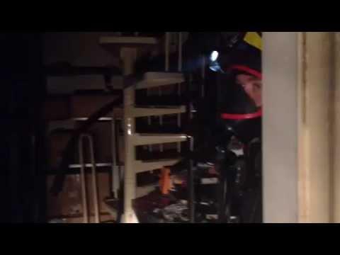 Incendio in via Carrobbio