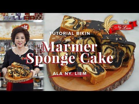 RESEP TURUN TEMURUN NY. LIEM BANDUNG! Marmer Sponge Cake yang Gurih, Pilihan Keluarga Indonesia