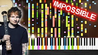 Video Ed Sheeran - Castle On The Hill - IMPOSSIBLE PIANO by PlutaX download in MP3, 3GP, MP4, WEBM, AVI, FLV Mei 2017