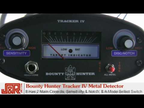 Bounty Hunter Tracker IV Metal Detector -- Review