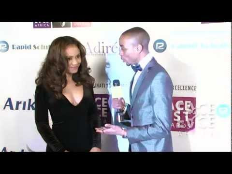 Nadia Buari, Jackie Appiah, and Awilo Longomba on the Purple Carpet: F.A.C.E. List Awards
