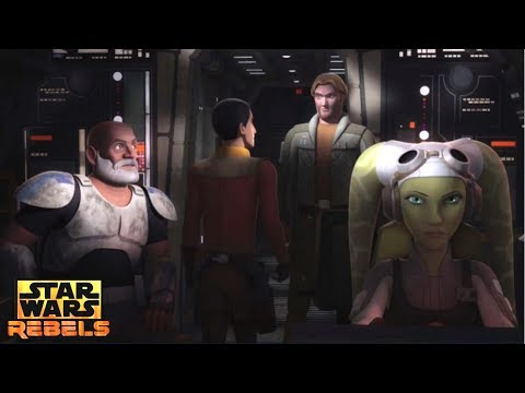 Star Wars Rebels: Rex And Agent Kallus Are Left With The Ghost Ship