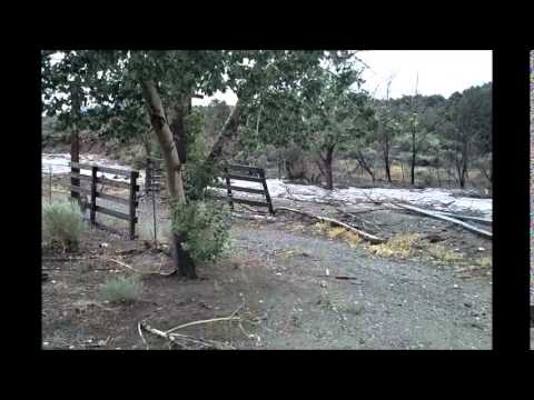 Flash Flood in Northern Nevada - July 20, 2014