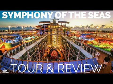 A Video Tour of the MS Symphony of the Seas