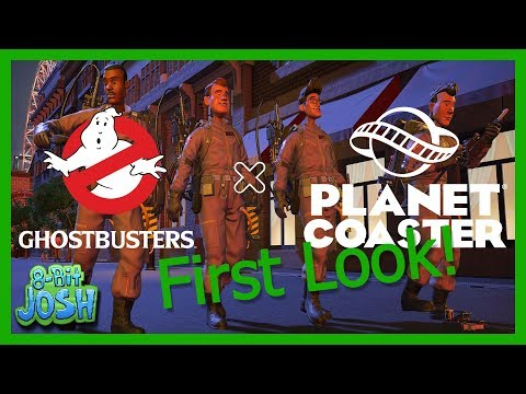 Planet Coaster - Ghostbusters DLC |First Look|