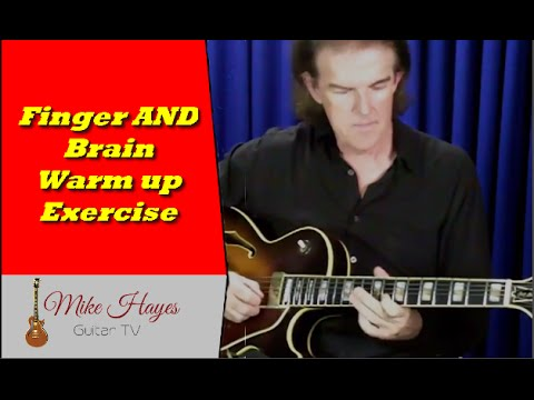 Learn Guitar Notes: Warm You Brain Up When You Warm Your Fingers Up On Guitar