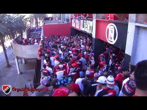 Previa de la hinchada. Newell's 1 - 0 Tigre. OrgulloRojinegro.com.ar - La Hinchada Más Popular - Newell's Old Boys