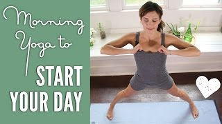 Video Morning Yoga - Yoga To Start Your Day! MP3, 3GP, MP4, WEBM, AVI, FLV Maret 2018