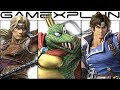 Super Smash Bros Ultimate - All NEW Character Trailers (Simon, K Rool, Richter, n More!)