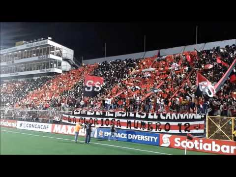 Liga Deportiva Alajuelense 4 - 2 Impact - Con la Gloriosa #12 - La 12 - Alajuelense
