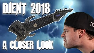 18 string (one of a kind) guitar - a closer look