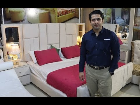Luxurious Bed Set Furniture Market Islamabad Pakistan | Bed Time | Wedding Furniture Design 2020