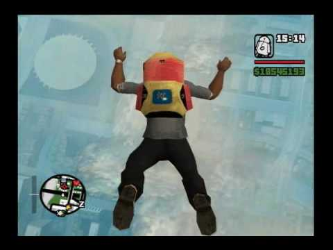 GTA San Andreas: The Omega Skydive (The Original)