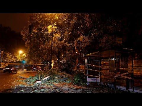 Την Πορτογαλία σάρωσε ο κυκλώνας Λέσλι