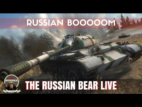 RUSSIAN BIAS ALL STREAM! World of Tanks Blitz (видео)