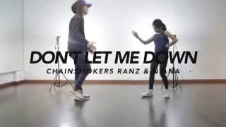 Video The Chainsmokers - Don't Let Me Down Dance Choreography | Ranz & Niana MP3, 3GP, MP4, WEBM, AVI, FLV Maret 2019