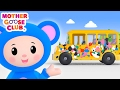 Baby Drives in Paint   Wheels on the Bus Color Song   Mother Goose Club Kid Songs and Baby Songs