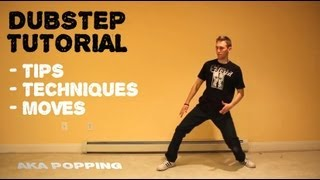 How To Dance to DUBSTEP Tutorial   Robotic POPPING Lesson - YouTube