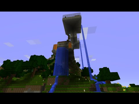 minecraft house tour - I decided to do a tour of my minecraft house to give a detailed look at everything I've done, which includes a bunch of neat piston and redstone inventions a...