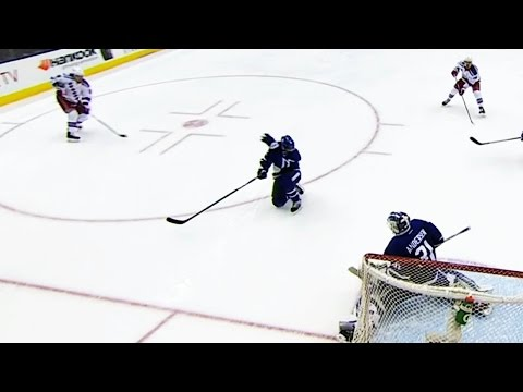 Miller fires shot off Hunwick's head and finds the back of the net