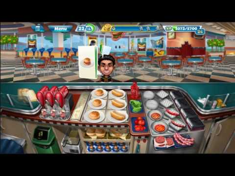 Cooking Fever: Mod Full Coin And Gem, Max Level Your Cooking City