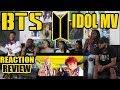 Download Lagu BTS (방탄소년단) - IDOL OFFICIAL MV REACTION/REVIEW Mp3 Free