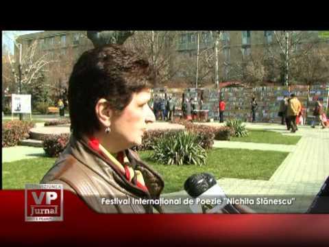 """Festival Internaţional de Poezie """"Nichita Stănescu"""""""