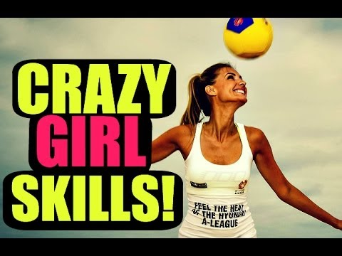 Amazing female skills!