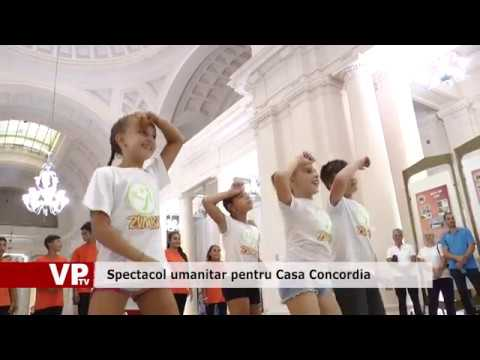 Spectacol umanitar pentru Casa Concordia