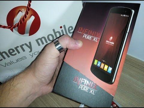 Cherry Mobile Infinix Pure XL Unboxing Video | Taragis.Com