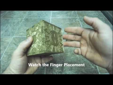 "Opening ""The Grip"" / Hellraiser Cube / Lemarchand's /  Lament Configuration Puzzle Box"