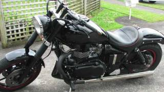 1. 2004 Triumph Speedmaster Build                  C.S.P Customs NZ
