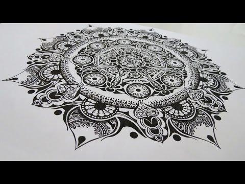 Zentangle Inspired Art #15