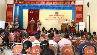 Hội Nông dân phường Yên Thanh: Gặp mặt kỷ niệm 90 năm ngày thành lập Hội Nông dân Việt Nam