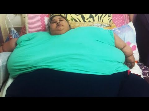 World's fattest woman transported to India via cargo plane; Obese 10-year-old boy - Compilation
